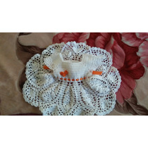 Vestidito Crochet Hilado De Verano. Tejido Artesanal
