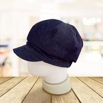 Chapéu Boné Infantil Xadrez Azul E Branco