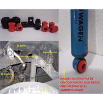 Kit02 Estabilizadora Trasera C/bujes P/amort Vocho Vw Sedan
