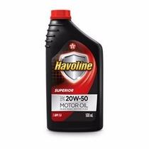 Óleo Motor 20w50 Mineral Havoline Texaco 1 Litro
