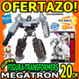 Wow Figura Transformers Megatron 20cm Armable 8 Pasos Hasbro