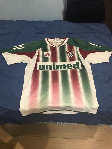 0e340f122f Camisa Fluminense Home 04 05 - adidas - Tamanho  P - R  70