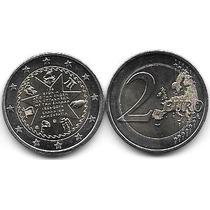 Moneda Grecia Bimetalica 2 Euro Año 2014 Islas Jonicas