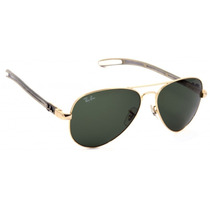 Lentes Ray Ban Tech Fibra De Carbono Rb 8307 001/0032 Gold