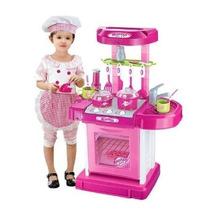 Cocina Para Niñas Con Luces Sonidos Y Accesorios