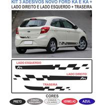 Acessorios Faixa Lateral E Traseira Novo Ford Ka Kit