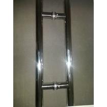 Puxador Para Porta De Vidro H 40x30 Brilhante