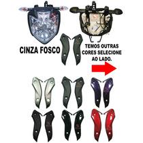 Kit Farol Fazer 250 2011/16 Frontal Aranha Pisca Aba Lateral