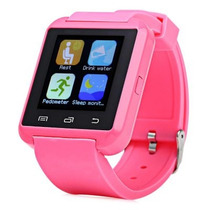 Smartwatch U80 Pro Color Rosa Htc Samsung Motorola Sony Lg