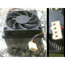 Fan Cooler Con Disipador De Calor Para Amd Socket 754