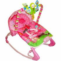 Cadeira Descanso Bebê Musical Vibratória E Balanço Rocker