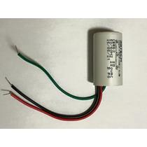 Capacitores Para Ventilador 3 Fios 10uf (3+7) Uf