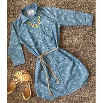 Vestidos En Jean Camisero Moda