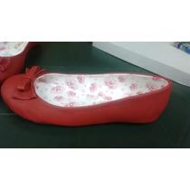 Zapatillas Annese Para Niña Color Rojo