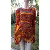 Sweater Mujer Corset Tejidos Artesanales Diseño Exclusivo
