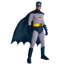 Disfraz De Colección Lujo Batman Clasico Hombre Adulto
