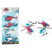 Set De Helicopteros Coleccion Juguete Niño