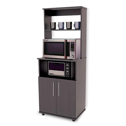 Alacena para microondas minimalista mod terragona de cocina 2 en mercado libre - Muebles de cocina para microondas ...