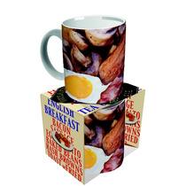 Taza De Café - Desayuno Inglés Británico Comida Salchicha