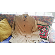 Camisa Tipo Chaqueta , Talla Plus 2xl-usada Bien Cuidada