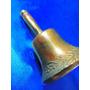 El Arcon Antigua Campana Llamador De Bronce Labrada 18056