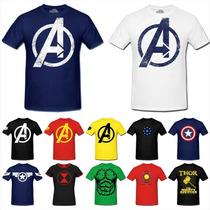 Camiseta - The Avengers - Os Vingadores - Marvel - Shield -