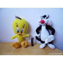 Peluches De Piolín Y Silvestre Looney Tunes Warner Lt63