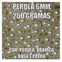 6 Pacote 250 Gramas Perola Abs 6 E 8 Com Furo