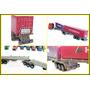 Carretas Bi-trem 6 Eixos + 2 Container 1/87 Hbm P/ Frateschi