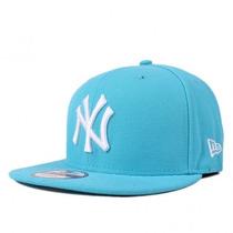 Boné Aberto Aba Reta New York Ny Yankees Azul Bebe Snapback