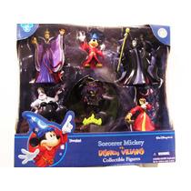 Figuras Disney Set De Villanos (mickey Mouse Mago, Ursula)
