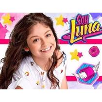 Kit Imprimible Soy Luna Diseña Tarjeta Invitacion Cumple