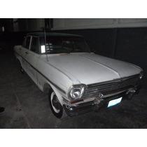 Chevy Il 1963 4 Puertas Totalmente Original Restaurar O Usar