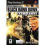 Delta Force Hawk Down Team Sabre Ps2 Patch Frete Unico