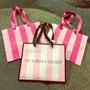 Sacola Bolsa De Papel Victoria Secret Pequena