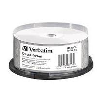 25 Bd-r Dl Disco Blu Ray Verbatim 50 Gb Imprimible Full Face