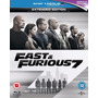 Fast And Furious 7 Bluray (version Uk, Region A Y B)