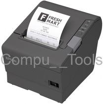 Miniprinter Epson Tm-t88v Puerto Usb Nueva Gris