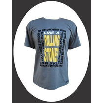 Camiseta Alternativa Rock - Bob Dylan / Like A Rolling Stone