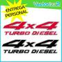 Calcomania 4x4 Nissan Frontier Turbo Diesel Diseño Original