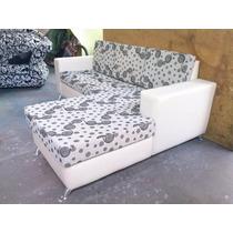 Sofas Muebles Modernos En L Semicuero Juego De Sala Recibo