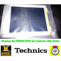 Display Lcd Visor Teclado Technics Kn-5000 Lançamento
