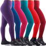 Calça Leg Lisa Legging Suplex Ginastica Academia Minasfit