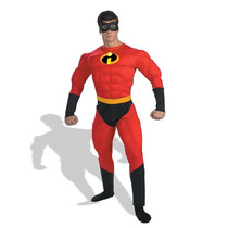 Disfraz Disguise Unisex - Adult Deluxe Muscle Mr Incredible