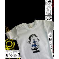 Body Guille Mafalda Exclusivo -pintados A Mano- Rockeritos