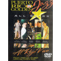 Puerto Rico Golden Jazz All Stars Al Rojo Vivo Dvd