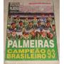 Revista Pôster Palmeiras Campeão Brasileiro 93