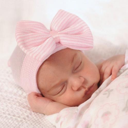 Touca Gorro Para Bebê Recém Nascido Enxoval Algodão - R  31 2a2588c1538