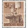 Estampillas Serie Alemania Nazi 1943 Nueva