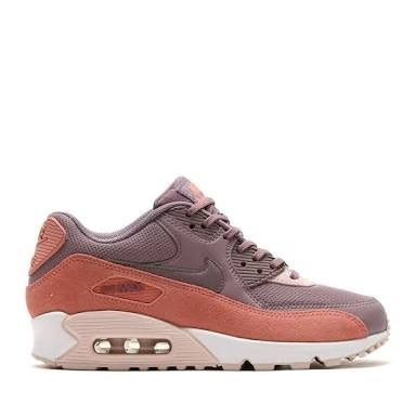 buy online d2764 7d7ac ... sale tenis nike 100 originales air max 90 retro de mujer rosa 5b348  bb54d